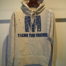 M(エム) / pull over hood parka (M×HTC) light gray