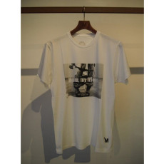 M エム / xM project crew neck t-shirts (lingerie) white