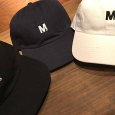 M エム キャップ / used wash one point 6panel cap