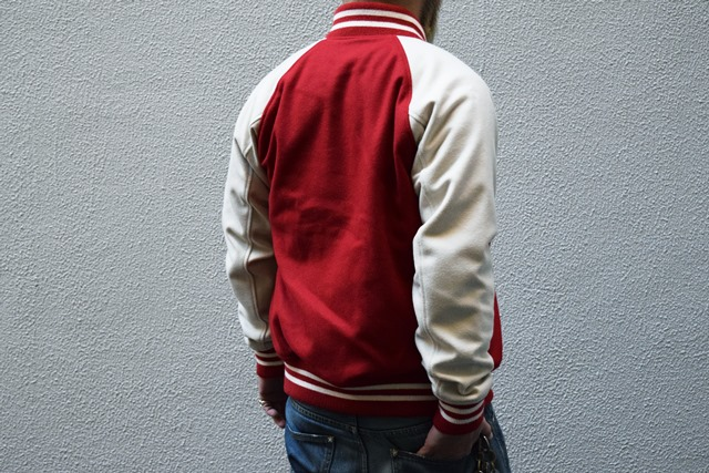 M エム アウター / M award jacket red