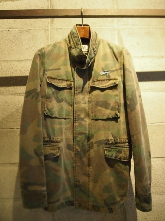 M エム アウター / used wash m-65 jacket camo