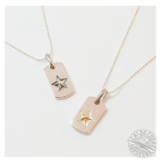 A.O.I エーオーアイ / STAR DOGTAG NECKLACE