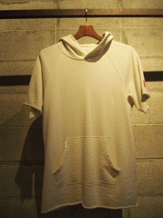 M エム パーカー / cut off used parka (HELLO) used white