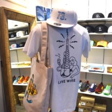 TCSS ティーシーエスエス / LIVEWIRE TEE white